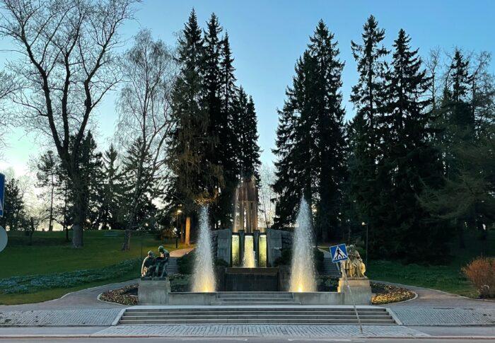 タンペレのおすすめ公園 Näsi Park