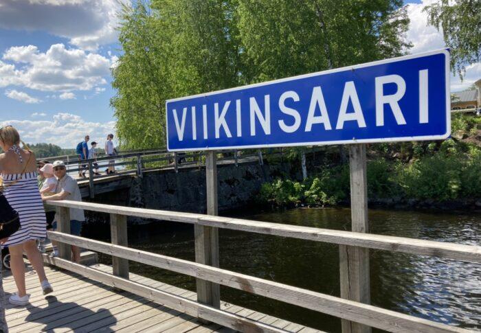 犬も一緒に船でお出かけ!タンペレ市内のオアシス Viikinsaari 行ってみたよ