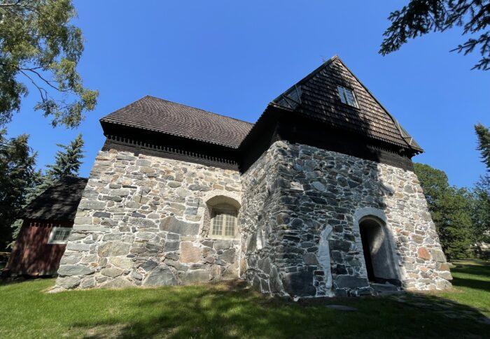 タンペレのおすすめスポット Messukylän vanha kirkko 行ってみたよ
