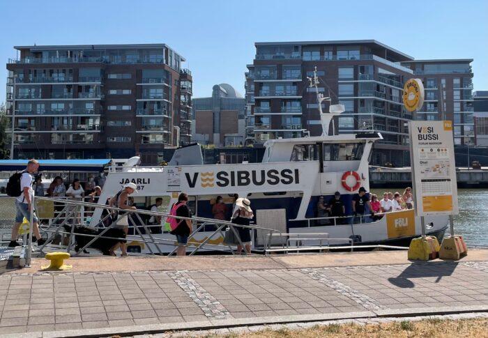 フィンランド生活備忘録 初旅行はトゥルクへ 水上バス・海水浴編
