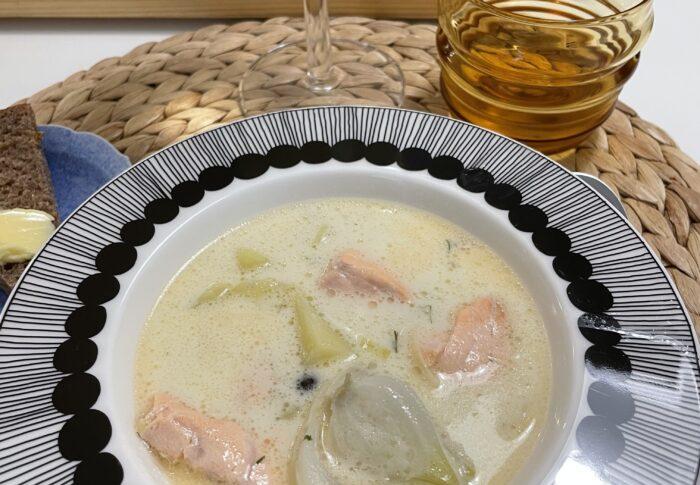 フィンランドのママの味 サーモンスープ 心にしみました 〜フィンランド生活備忘録