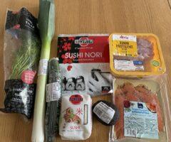 人生で初めて作る巻き寿司はまさかのフィンランドで! 人生何があるかわかりませんなぁ フィンランド生活備忘録