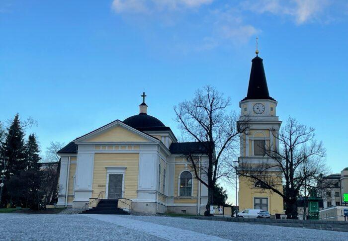 タンペレの気になる教会 Tampereen vanha kirkko 行ってみたよ